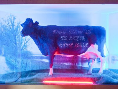 Art Orienté Objet, Neem niets in en zeker geen melk, Verbeke Foundation