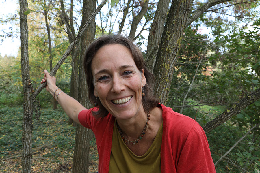 Ann Tilmann, Verbeke Foundation, kunstbeleving in de natuur, art experience in nature