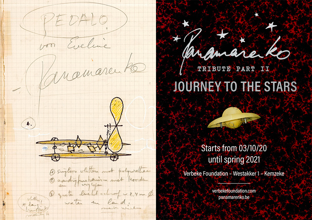 Panamarenko Tribute II -2 bij Verbeke Foundation